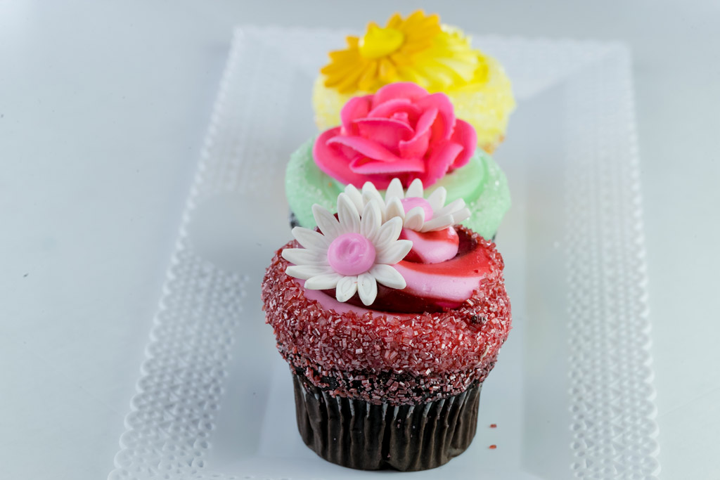 flower-cupcakes