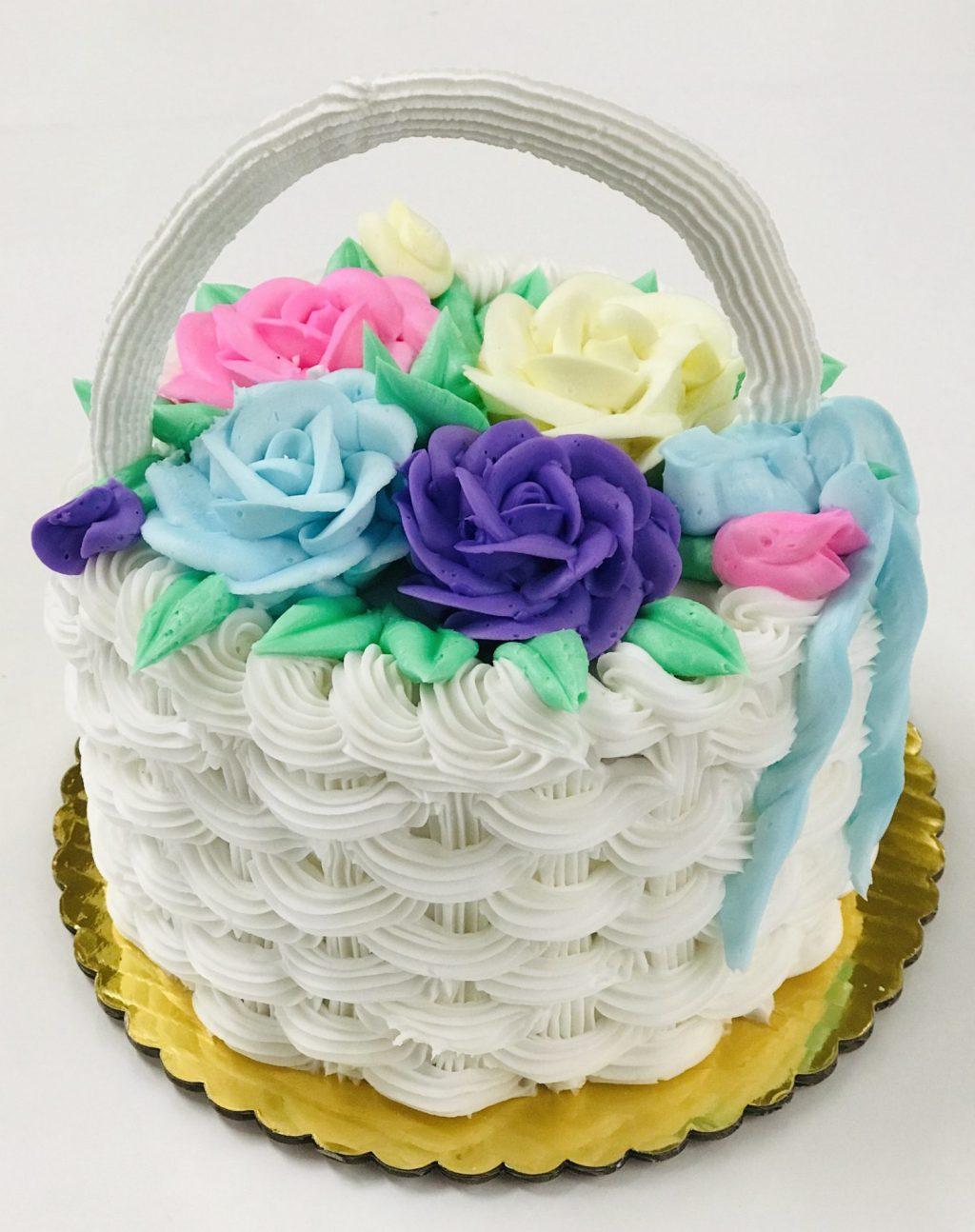 Easter - Basket Weave Cake