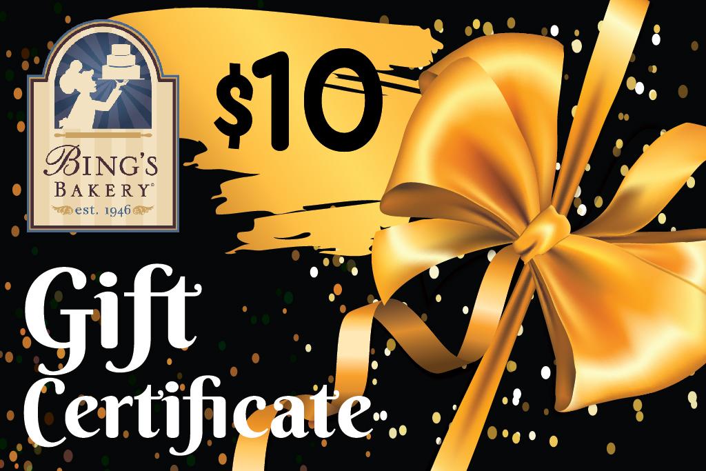 Bings - Gift Certificate - Black-01
