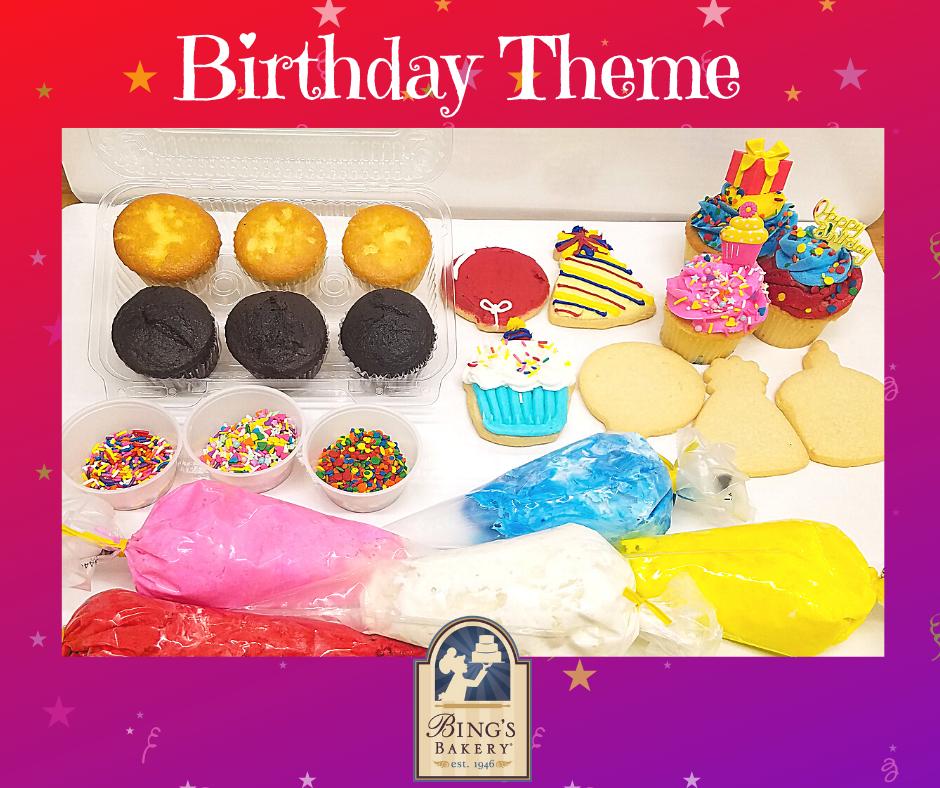 Birthday theme kit
